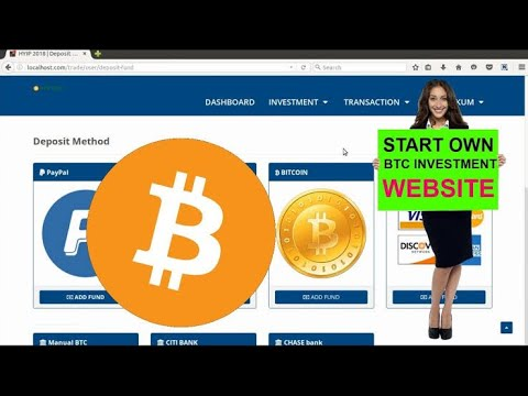 How to Create Fake bitcoin Investment Website [Tutorial]