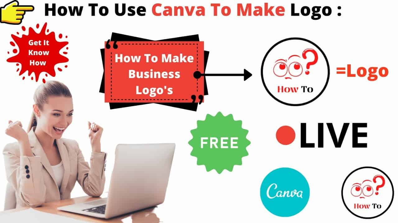 How to Create Logo In Canva | Make Your Own Logo With Canva | Canva Tutorial For BEGINNERS Free!