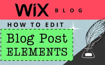 Do It Yourself – Tutorials – How to Edit Wix Blog Post Layout (Wix Blog Tutorial)