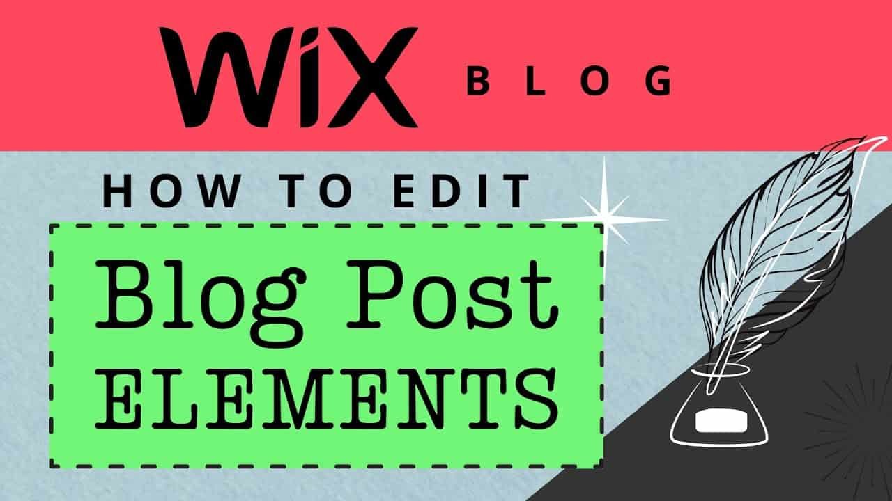 How to Edit Wix Blog Post Layout (Wix Blog Tutorial)