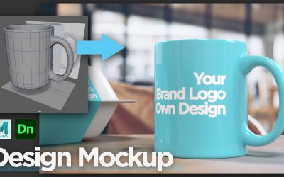 Do It Yourself – Tutorials – How to make Design Mockup in Adobe Dimension, custom-made 3D model from 3D software, Autodesk Maya