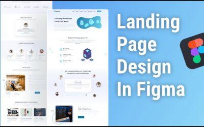 Do It Yourself – Tutorials – Landing Page Design In Figma     Figma Tutorial    Website Design