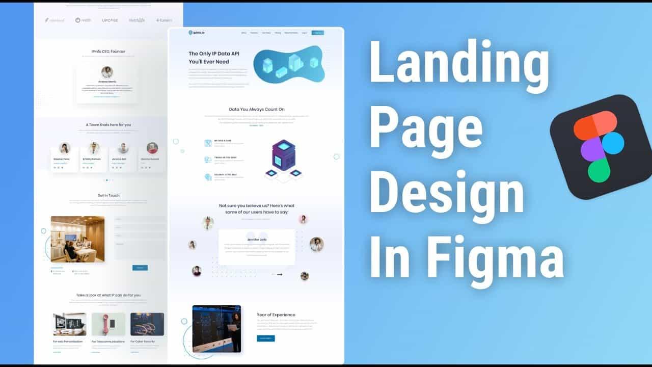 Landing Page Design In Figma ||  Figma Tutorial || Website Design
