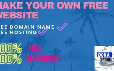 Do It Yourself – Tutorials – Make Free Website |How to create a free website|Free website hosting|free website kaise banaye