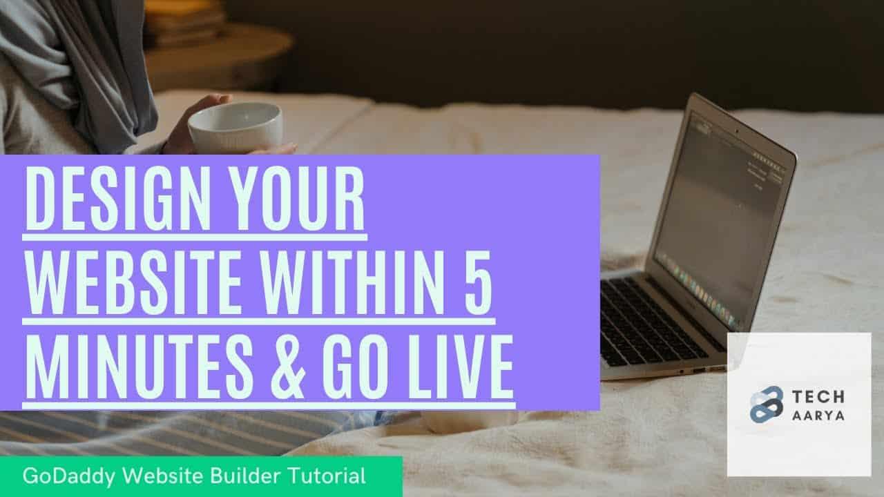 Make a website Within 5 Minutes | Website Builder Tutorial 2021