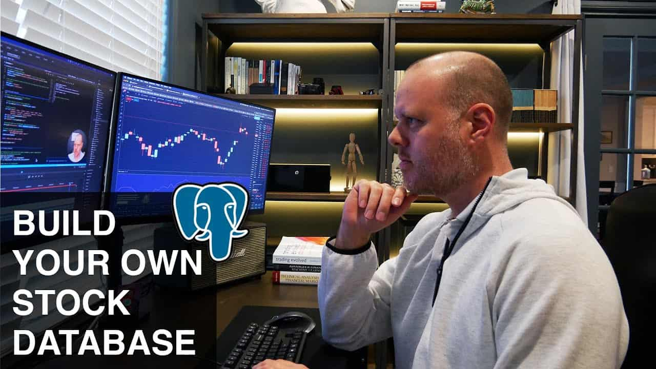 Python Quant Tutorial:  How To Build Your Own Stock Database In PostgreSQL