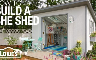 Do It Yourself – Tutorials – She Sheds: Plans for How to Build & Customize