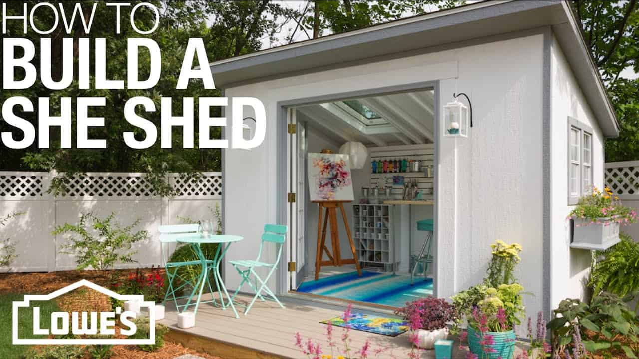 She Sheds: Plans for How to Build & Customize