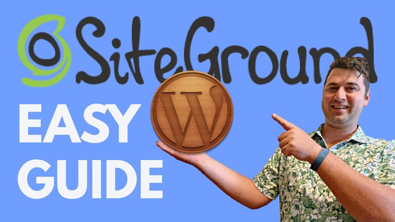 SiteGround WordPress Tutorial 2021 [How To Make a WordPress Website at SiteGround NEW!]