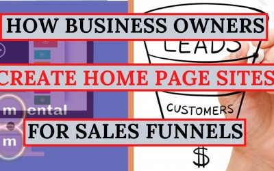 Do It Yourself – Tutorials – Tutorial: How To Build A Home Page Sales Funnel with Clickfunnels