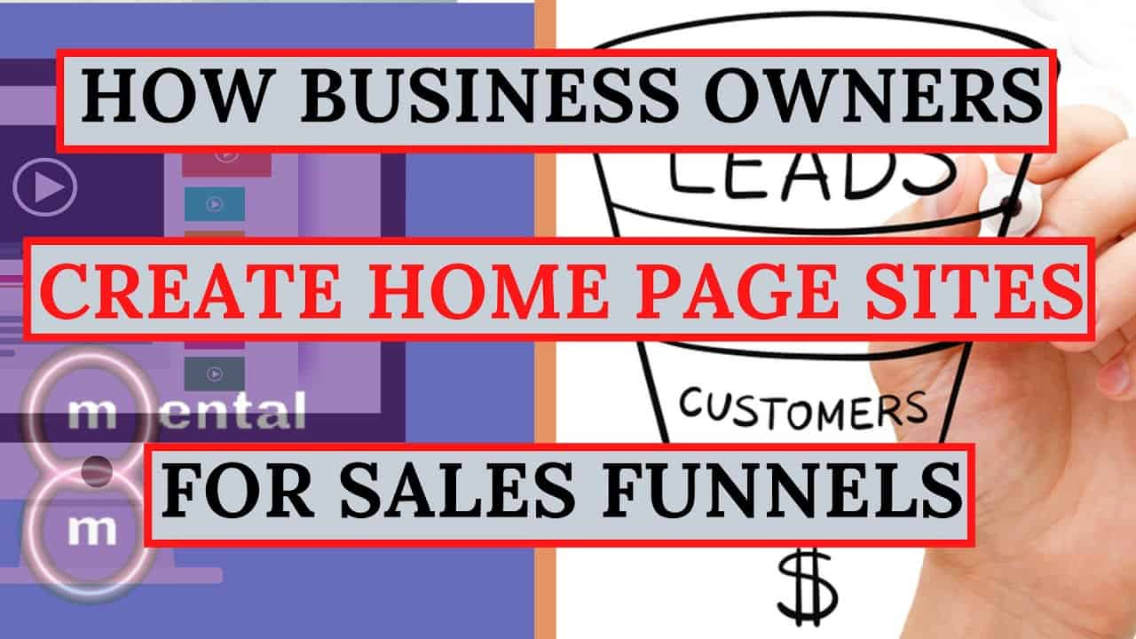 Tutorial: How To Build A Home Page Sales Funnel with Clickfunnels