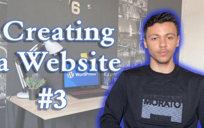 Do It Yourself – Tutorials – WORDPRESS TUTORIAL #3: CREATE A WEBSITE