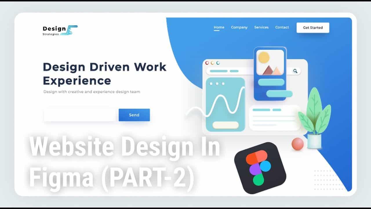 Website Landing Page Design In Figma (PART-2)     Figma Tutorial    Website Design