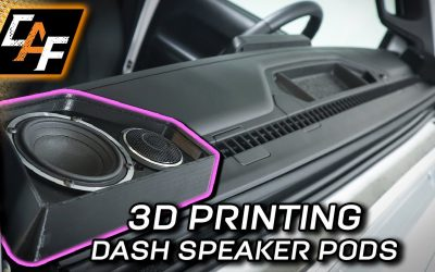 Do It Yourself – Tutorials – You challenged me! 3D Printing Dash Speaker Pods