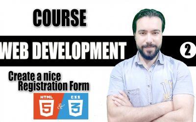 Do It Yourself – Tutorials – web development (web design), create a wonderful responsive Registration Form (html , css). tutorial