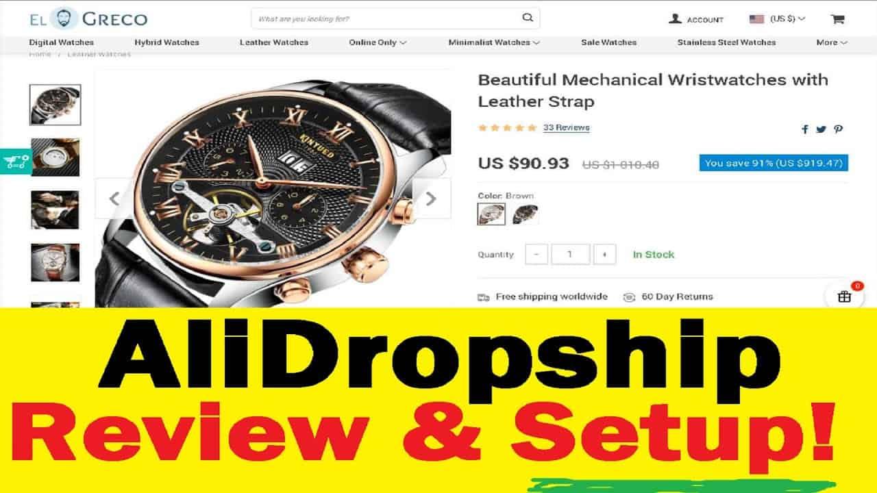 AliDropship Review & Setup Tutorial AliExpress DropShipping Wordpress Plugin