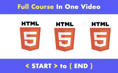 WordPress For Beginners – Complete HTML 5 Tutorial from scratch