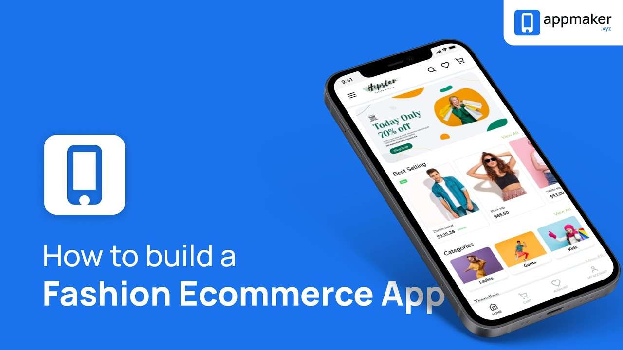 Create a Mobile App for Fashion E-Commerce Tutorial   WordPress Website to mobile Android/iOS App