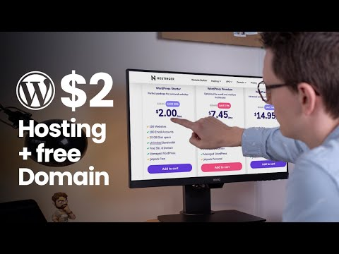 Hostinger - $2 Cheap Wordpress Hosting with a Free Domain