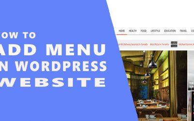 WordPress For Beginners – How To Add Menu in WordPress Website    WordPress Tutorial For Beginners in Hindi