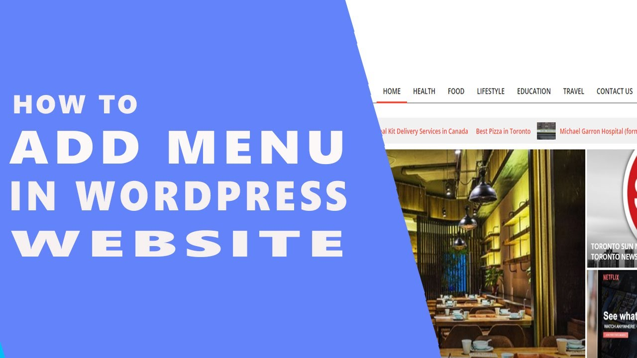 How To Add Menu in Wordpress Website    Wordpress Tutorial For Beginners in Hindi