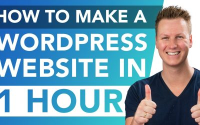 WordPress For Beginners – How To Make A Website Within One Hour   WordPress Tutorial