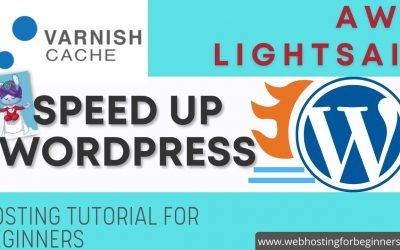 WordPress For Beginners – How-To Setup Varnish for Bitnami WordPress on AWS Lightsail Hosting – Speed Up WordPress