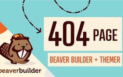 WordPress For Beginners – How to Create 404 Error Page WordPress: Beaver Builder + Themer Tutorial