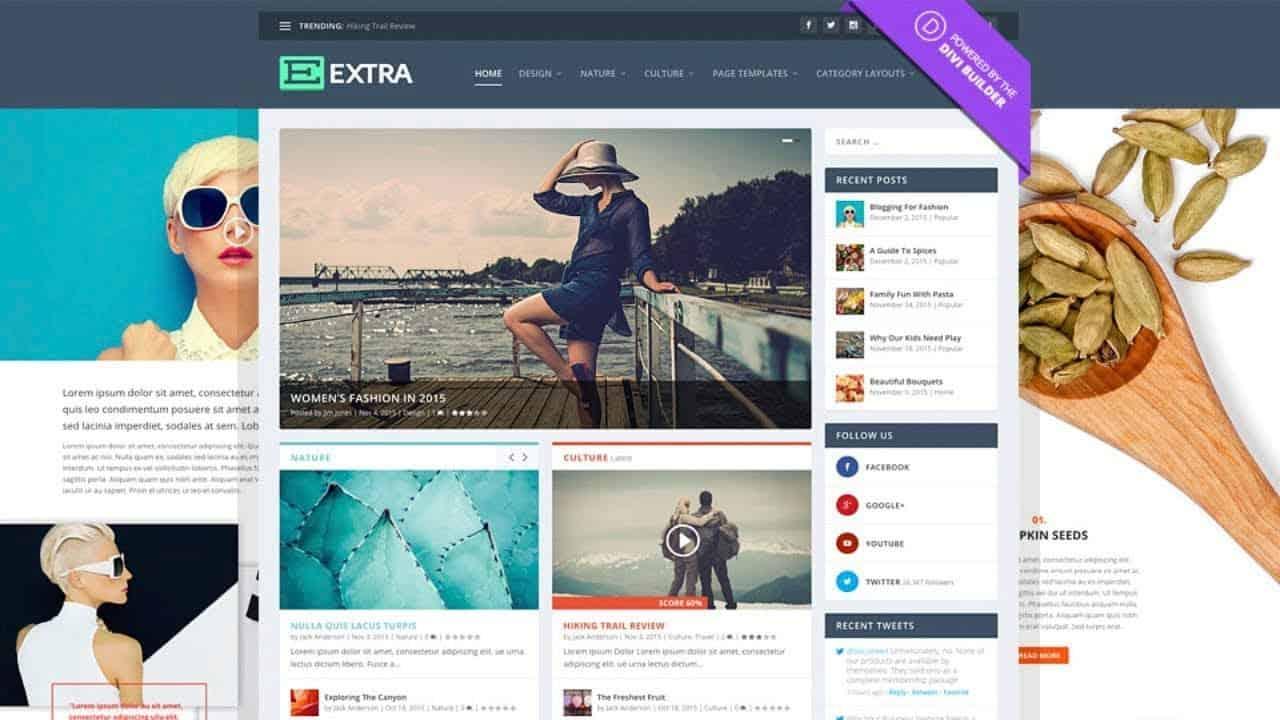 How to Create a Blog Website - WordPress Extra Theme Tutorial 2021