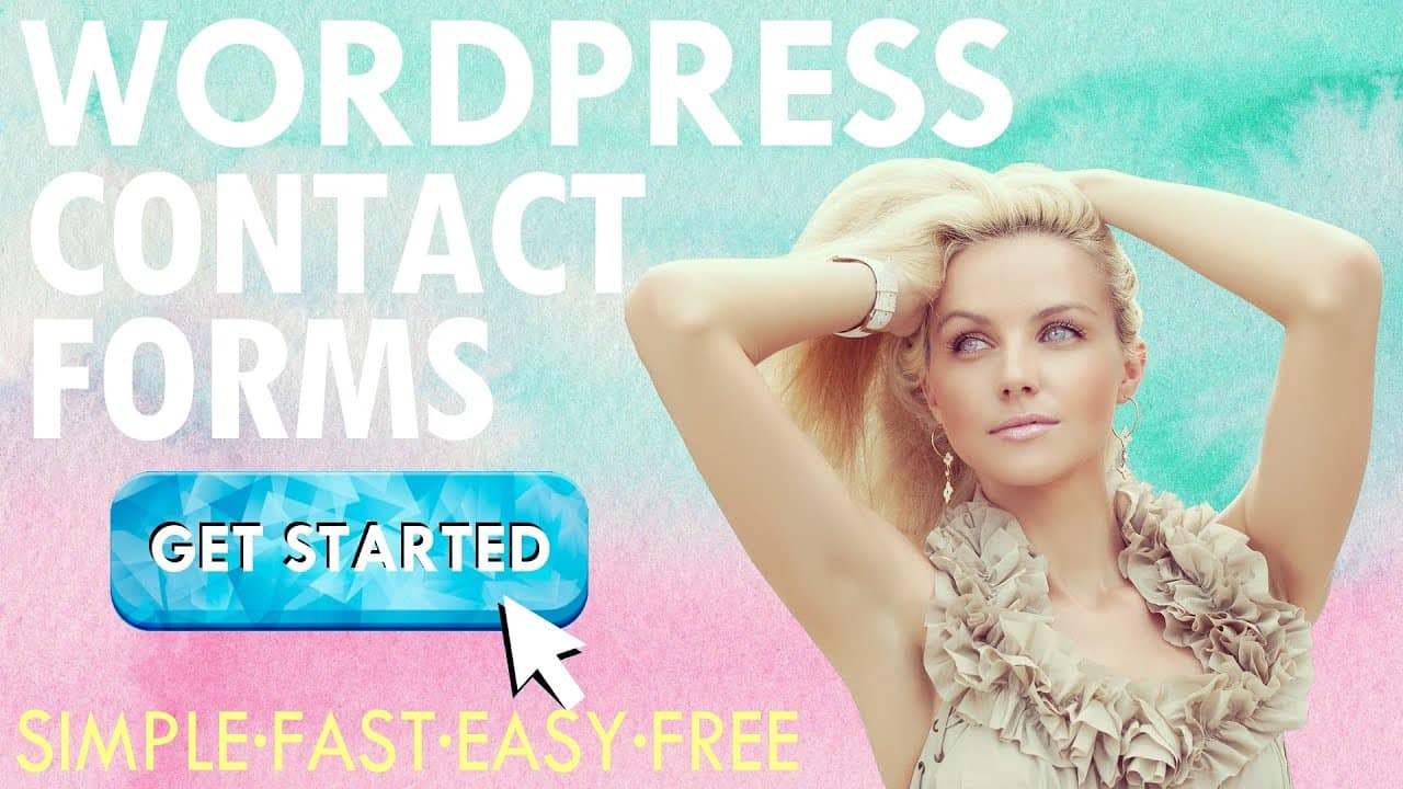 How to Create a WordPress Contact Form FREE 2021 ~ A Contact Form Tutorial For Beginners