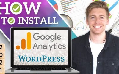 WordPress For Beginners – How to Install Google Analytics on WordPress   Google Analytics 4 Tutorial [2021]