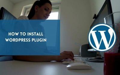 WordPress For Beginners – How to Install a WordPress Plugin