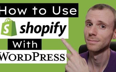 WordPress For Beginners – How to Use Shopify with WordPress (Buy Button Tutorial)