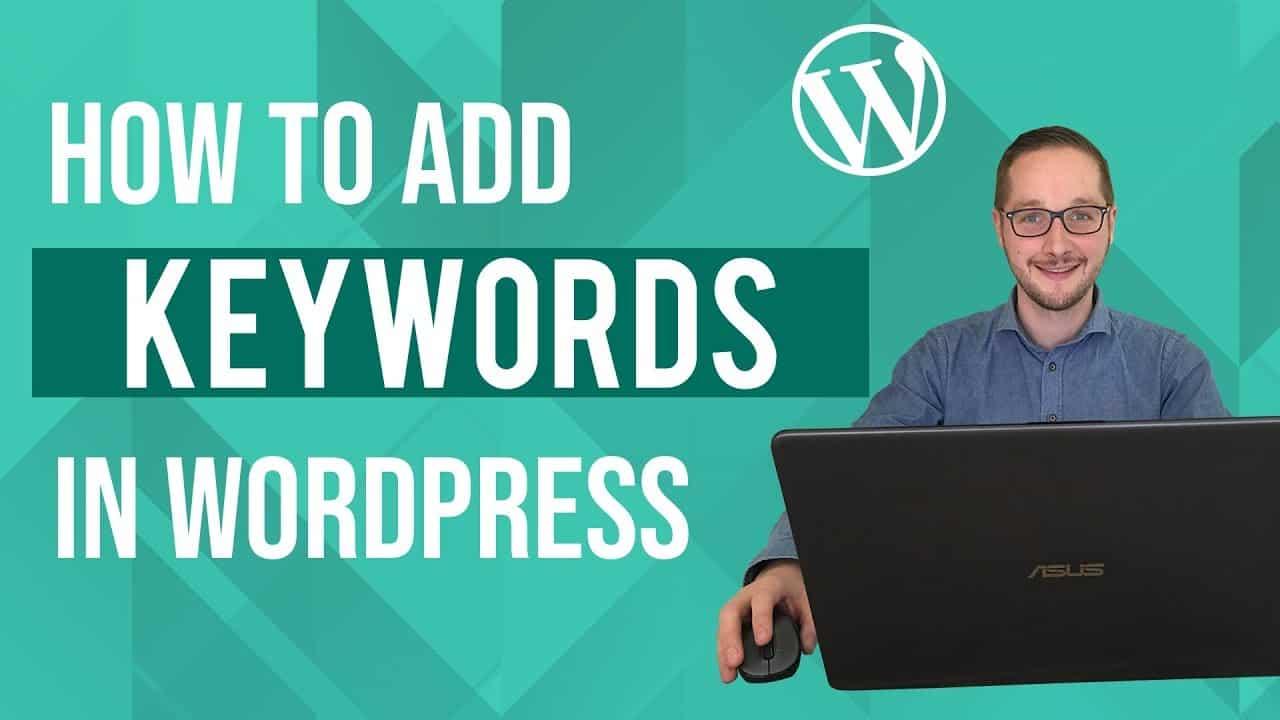 How to add keywords in Wordpress Tutorial