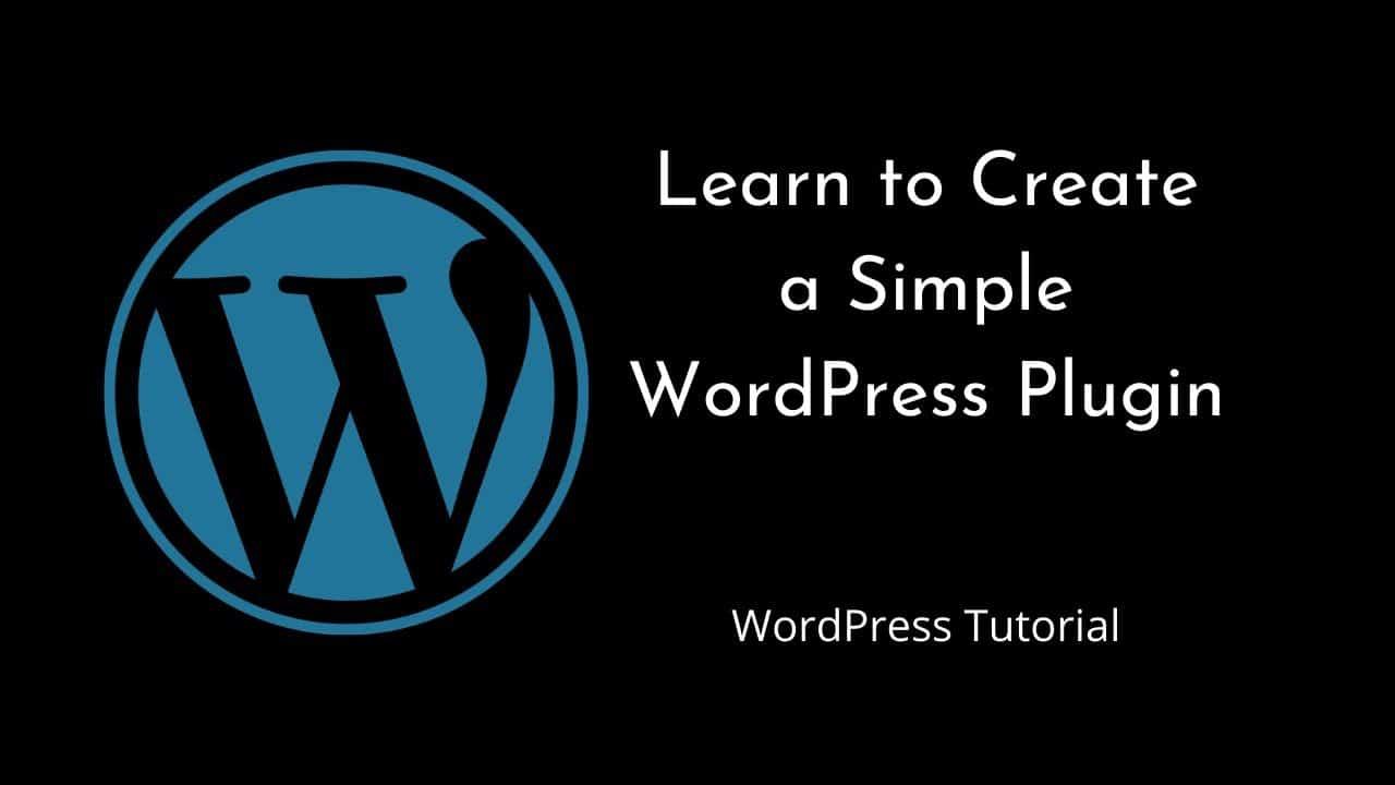 How to create WordPress Plugin   WordPress   Tutorial for Beginners   Tutorial - 5