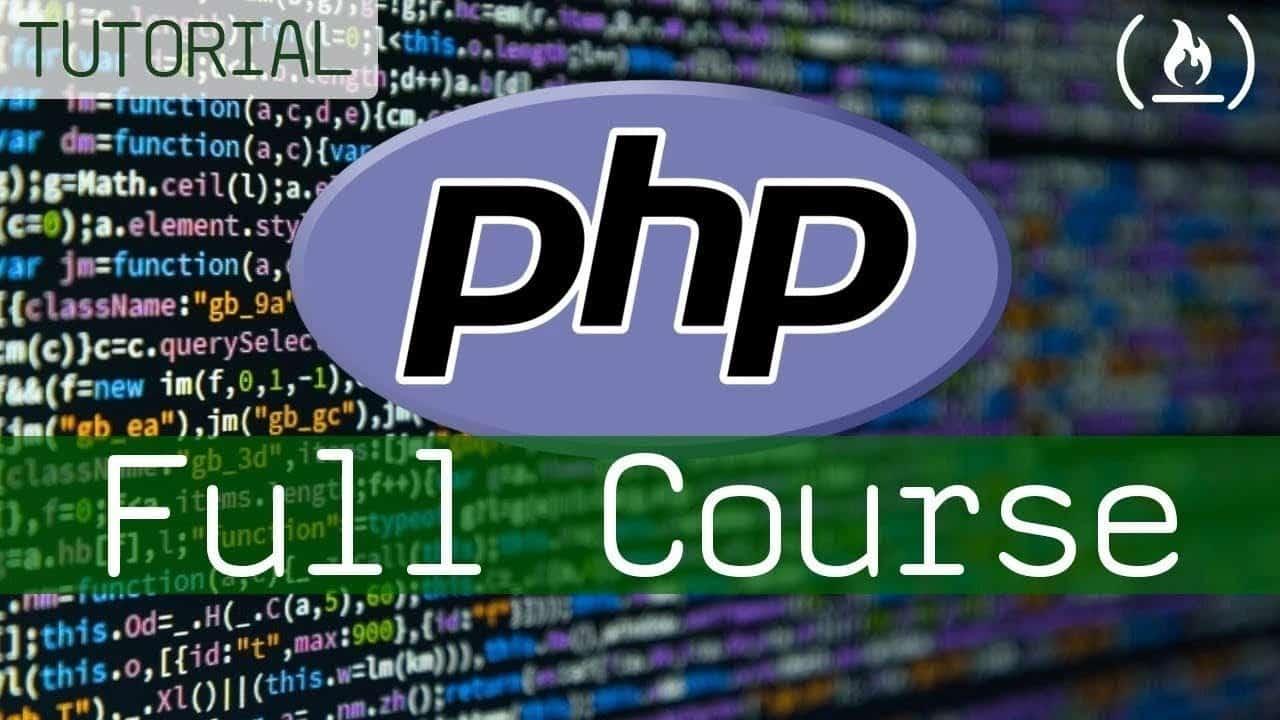 PHP Programming Language Tutorial - Full Course