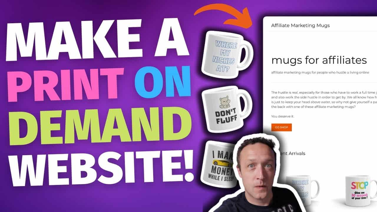 Print on Demand Website Tutorial - Create your own POD website with WordPress [FULL GUIDE] - 2021