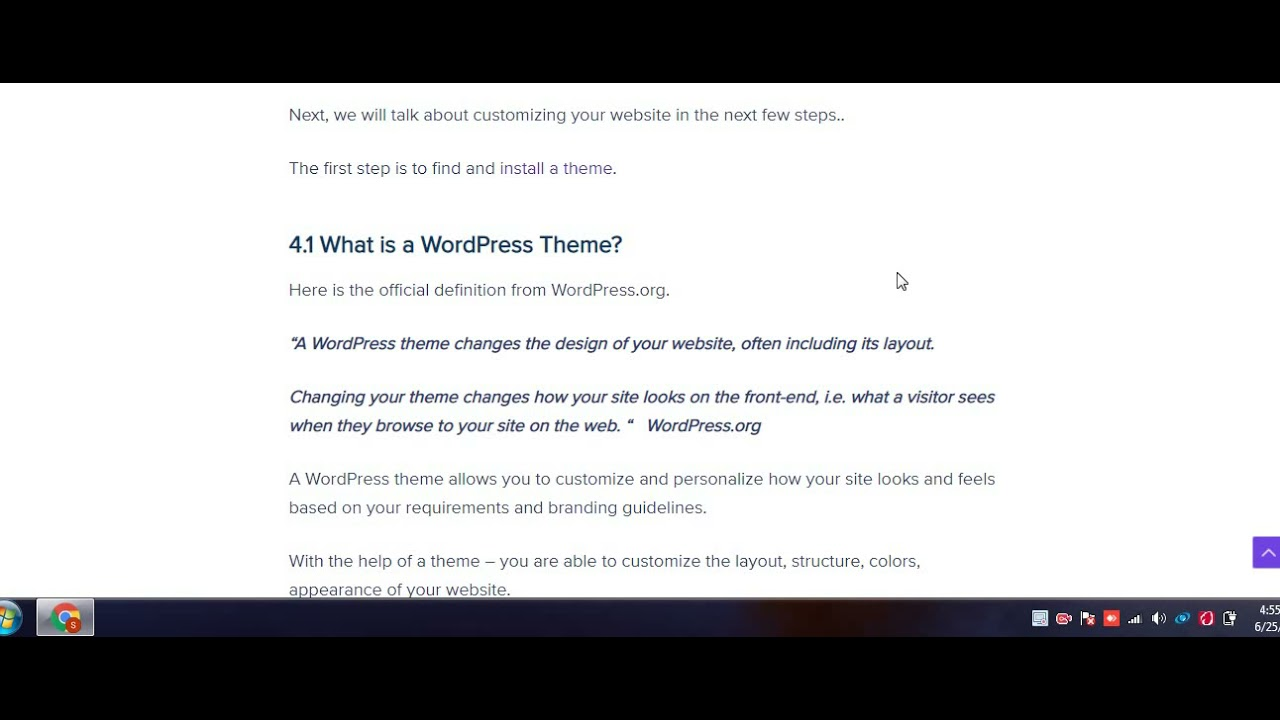 WordPress website Set up Tutorial. Step By step with Installation.