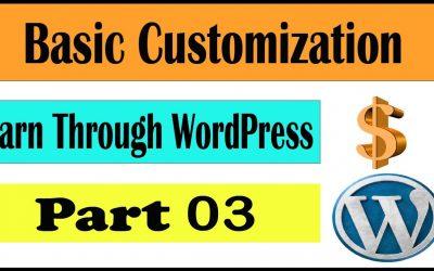 WordPress For Beginners – how to change wordpress theme   permalink settings wordpress   wordpress tutorial for beginners
