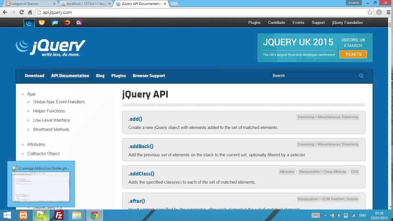HTML 5, CSS 3, PHP , Jquery, Ajax website design (E.commerce) Part 2