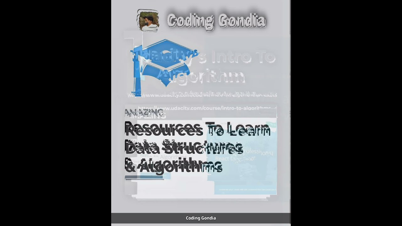 Resources To Learn Data Structures & Algorithms  #shorts #CodingGondia #Kunal