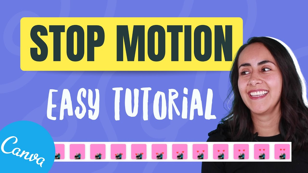 How to Create a STOP MOTION Animation | Easy Canva Tutorial