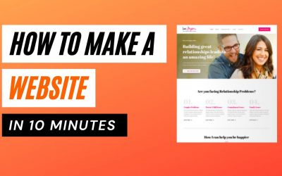 Do It Yourself – Tutorials – How to Make a Website in 10 Minutes | Easy & Simple 2021