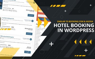 Do It Yourself – Tutorials – How to Create a Hotel Booking Website similar to Booking.com and Agoda | WordPress Tutorial