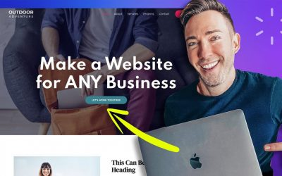 Do It Yourself – Tutorials – How to Make a Website for Your Business | Easy Step-by-Step Drag & Drop Method!