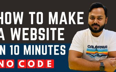 Do It Yourself – Tutorials – How to Make a Website in Just 10 Minutes – 2021 Updated Tutorial