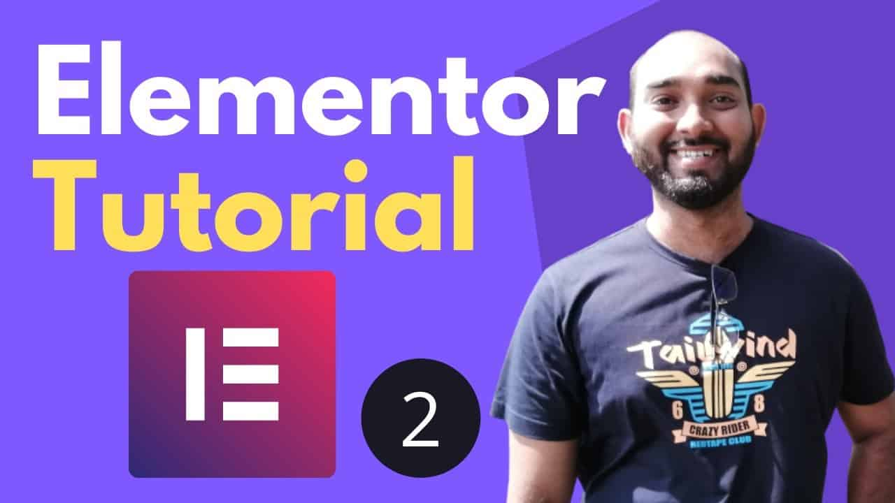 Elementor Tutorial for Beginners   Build Webpage - Part 2   WordPress Course #16