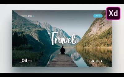 Do It Yourself – Tutorials – Adobe Xd Web Design – How to design a simple website in Adobe Xd for beginners (2020)