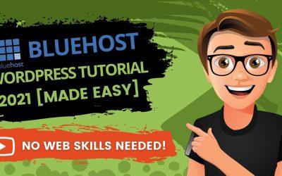 Do It Yourself – Tutorials – Bluehost WordPress Tutorial For Beginners 2021 [EASY]