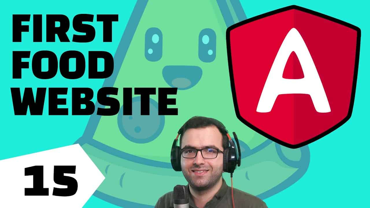 Build Your First Food Website Using ANGULAR - Part 15 - Not Found - Angular & CSS